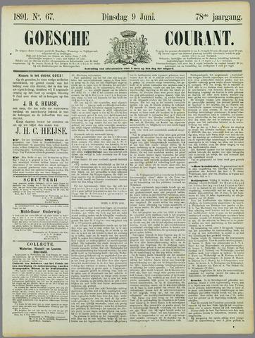 Goessche Courant 1891-06-09