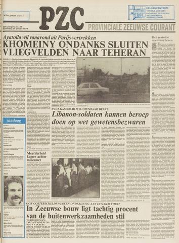 Provinciale Zeeuwse Courant 1979-01-25