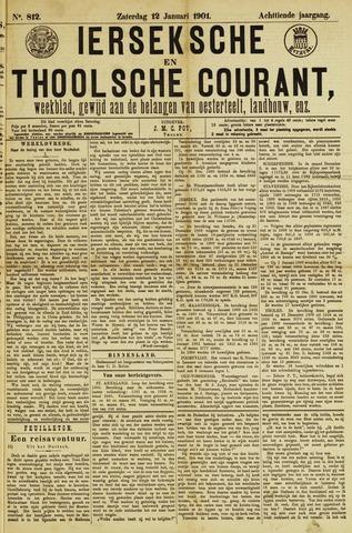 Ierseksche en Thoolsche Courant 1901-01-12