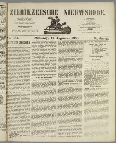Zierikzeesche Nieuwsbode 1850-08-12