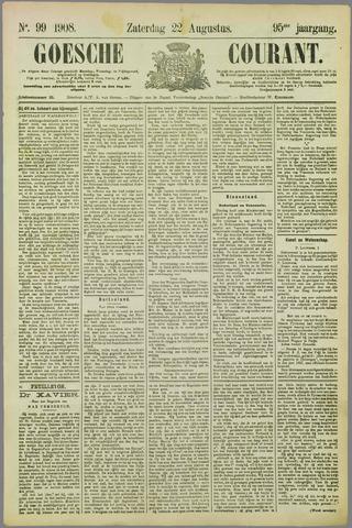 Goessche Courant 1908-08-22