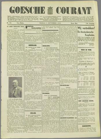 Goessche Courant 1932-09-09
