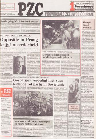Provinciale Zeeuwse Courant 1989-12-11