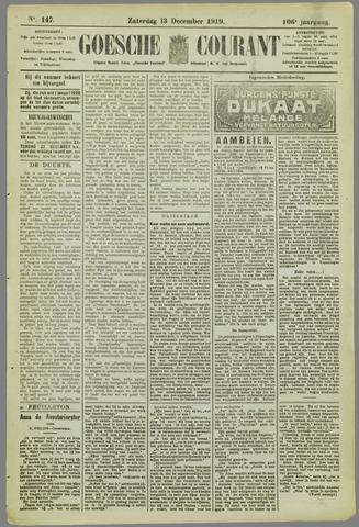 Goessche Courant 1919-12-13