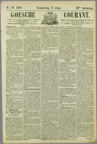 Goessche Courant 1908-06-11