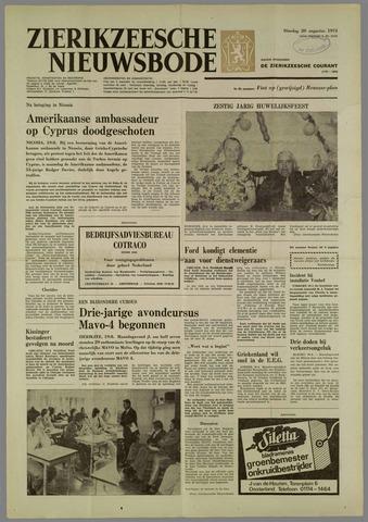 Zierikzeesche Nieuwsbode 1974-08-20