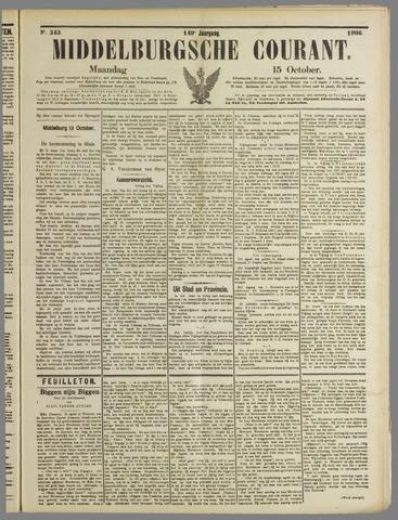 Middelburgsche Courant 1906-10-15
