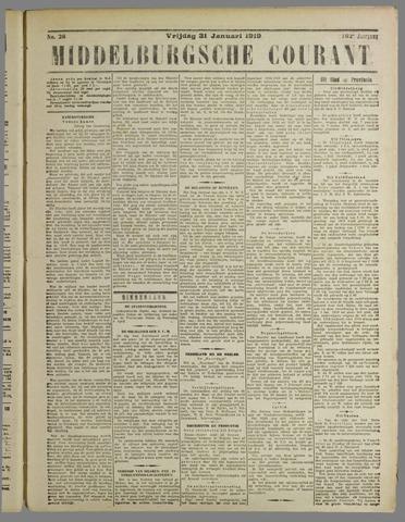 Middelburgsche Courant 1919-01-31