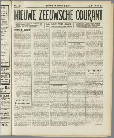 Nieuwe Zeeuwsche Courant 1909-12-14