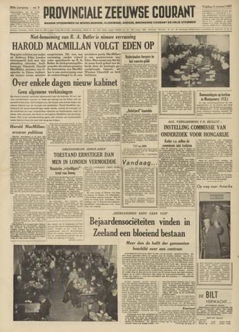 Provinciale Zeeuwse Courant 1957-01-11
