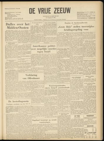 de Vrije Zeeuw 1957-02-20