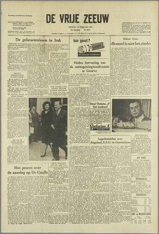 de Vrije Zeeuw 1963-02-12