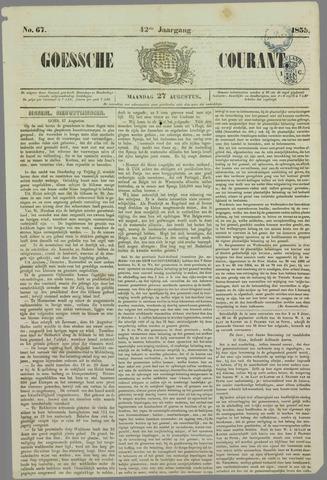 Goessche Courant 1855-08-27