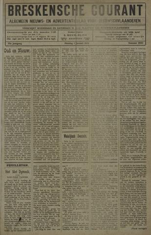 Breskensche Courant 1924