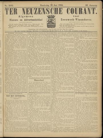 Ter Neuzensche Courant. Algemeen Nieuws- en Advertentieblad voor Zeeuwsch-Vlaanderen / Neuzensche Courant ... (idem) / (Algemeen) nieuws en advertentieblad voor Zeeuwsch-Vlaanderen 1895-06-20