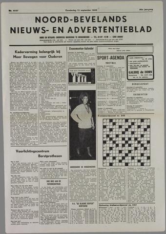 Noord-Bevelands Nieuws- en advertentieblad 1985-09-12