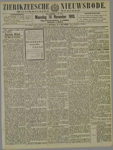 Zierikzeesche Nieuwsbode 1910-11-14