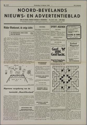 Noord-Bevelands Nieuws- en advertentieblad 1985-02-14