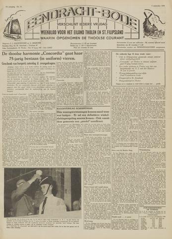 Eendrachtbode (1945-heden)/Mededeelingenblad voor het eiland Tholen (1944/45) 1959-09-04