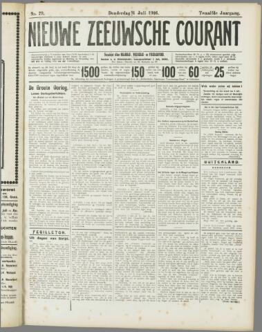 Nieuwe Zeeuwsche Courant 1916-07-06