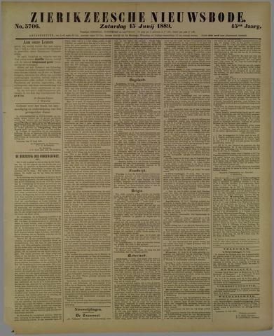 Zierikzeesche Nieuwsbode 1889-06-15