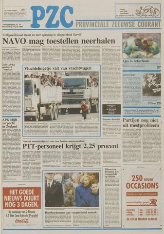 Provinciale Zeeuwse Courant 1993-04-01