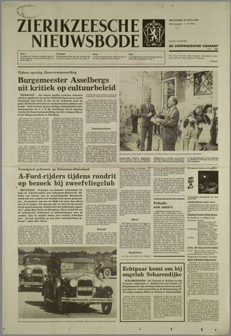 Zierikzeesche Nieuwsbode 1987-07-12