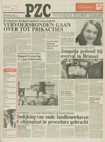 Provinciale Zeeuwse Courant 1976-12-02