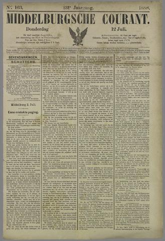 Middelburgsche Courant 1888-07-12