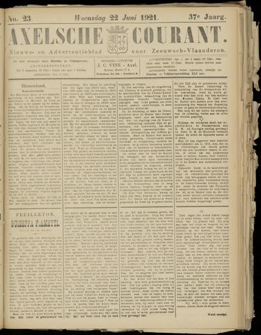 Axelsche Courant 1921-06-22