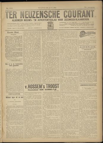 Ter Neuzensche Courant. Algemeen Nieuws- en Advertentieblad voor Zeeuwsch-Vlaanderen / Neuzensche Courant ... (idem) / (Algemeen) nieuws en advertentieblad voor Zeeuwsch-Vlaanderen 1931-06-26