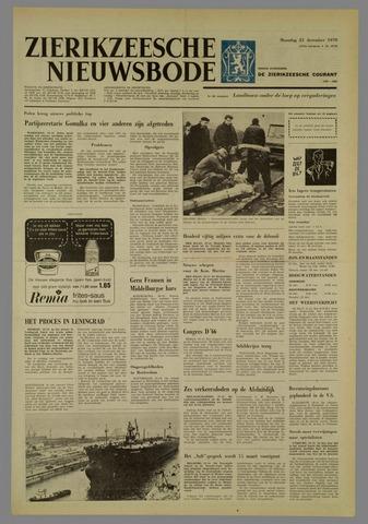 Zierikzeesche Nieuwsbode 1970-12-21