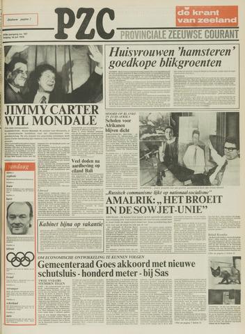 Provinciale Zeeuwse Courant 1976-07-16