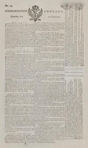 Middelburgsche Courant 1811-02-23