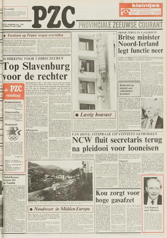 Provinciale Zeeuwse Courant 1984-07-27