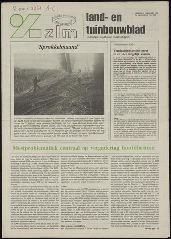 Zeeuwsch landbouwblad ... ZLM land- en tuinbouwblad 1990-02-09