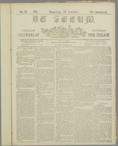 De Zeeuw. Christelijk-historisch nieuwsblad voor Zeeland 1911-10-23