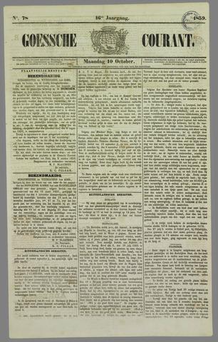 Goessche Courant 1859-10-10