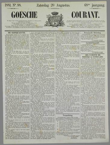 Goessche Courant 1881-08-20