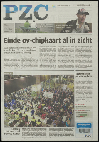 Provinciale Zeeuwse Courant 2014-10-07