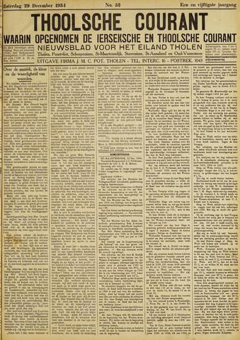 Ierseksche en Thoolsche Courant 1934-12-29