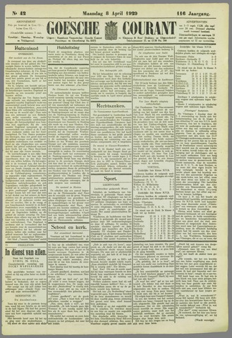 Goessche Courant 1929-04-08