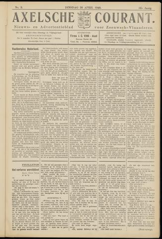 Axelsche Courant 1940-04-30