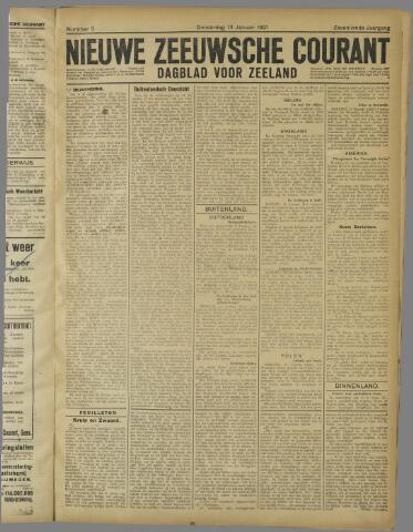 Nieuwe Zeeuwsche Courant 1921-01-13