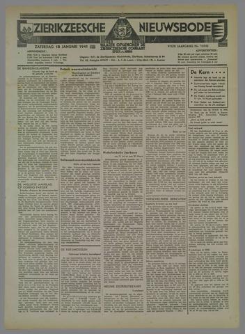 Zierikzeesche Nieuwsbode 1941-01-18