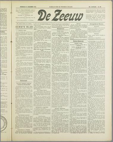 De Zeeuw. Christelijk-historisch nieuwsblad voor Zeeland 1934-12-19