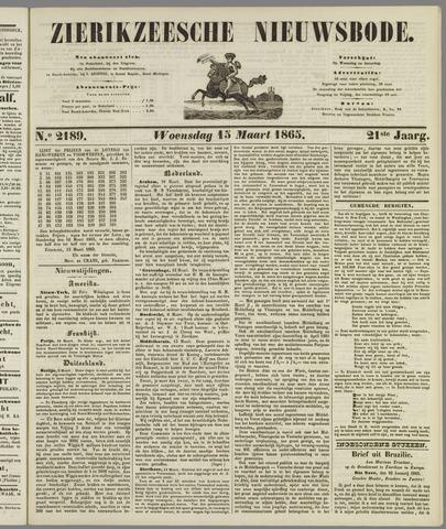 Zierikzeesche Nieuwsbode 1865-03-15