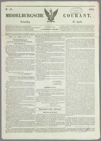 Middelburgsche Courant 1861-04-27