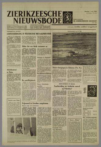 Zierikzeesche Nieuwsbode 1963-05-07