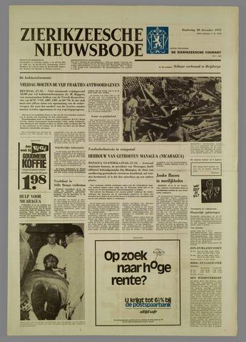 Zierikzeesche Nieuwsbode 1972-12-28